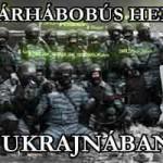 POLGÁRHÁBORÚS HELYZET UKRAJNÁBAN
