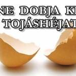 NE DOBJA KI A TOJÁSHÉJAT! A tojás magas fehérjetartalma kedvező élettani hatást gyakorol az emberi szervezetre.