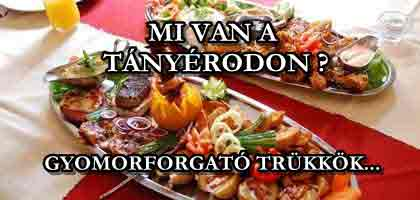 MI VAN A TÁNYÉRODON? A magyar éttermek gyomorforgató trükkjei