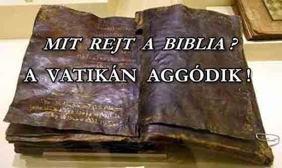 EGY 1500 ÉVES BIBLIA SZERINT JÉZUST NEM FESZÍTETTÉK KERESZTRE, A VATIKÁN AGGÓDIK! A Vatikán legnagyobb rémületére egy körülbelül 1500-2000 éves bibliát találtak.
