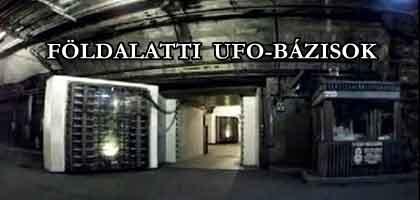FÖLDALATTI UFO-BÁZISOK.