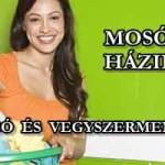 MOSÓGÉL HÁZILAG – OLCSÓ ÉS VEGYSZERMENTES