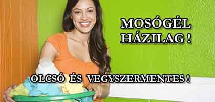 MOSÓGÉL HÁZILAG - OLCSÓ ÉS VEGYSZERMENTES!