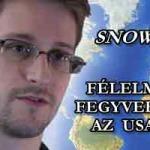 SNOWDEN – FÉLELMETES FEGYVERE VAN AZ USA-NAK