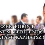 280 EZER FORINT VISSZA NEM TÉRÍTENDŐ TÁMOGATÁST KAPHATSZ!