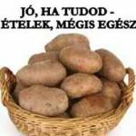 JÓ, HA TUDOD – TILTOTT ÉTELEK, MÉGIS EGÉSZSÉGESEK