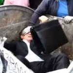 KUKÁBA DOBTAK EGY UKRÁN POLITIKUST – VIDEÓ