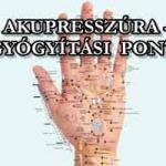 AKUPRESSZÚRA – ÖNGYÓGYÍTÁSI PONTOK