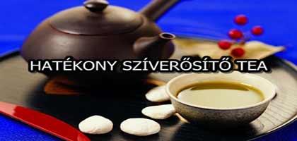 HATÉKONY SZÍVERŐSÍTŐ TEA