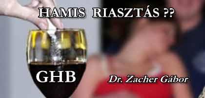 A GHB FELHÍVÁST NEM DR. ZACHER GÁBOR ÍRTA?