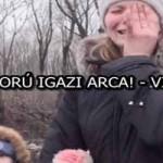 A HÁBORÚ IGAZI ARCA! - VIDEÓ