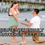 SELFIE-NEK INDULT, DE LÁNYKÉRÉS LETT BELŐLE – VIDEÓ