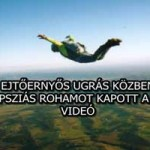 IJESZTŐ VIDEÓ: EJTŐERNYŐS UGRÁS KÖZBEN EPILEPSZIÁS ROHAMOT KAPOTT A FÉRFI!