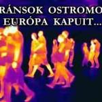 MIGRÁNSOK OSTROMOLJÁK EURÓPA KAPUIT
