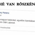 HELYZET VAN RÖSZKÉNÉL
