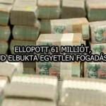 ELLOPOTT 61 MILLIÓT, MAJD ELBUKTA EGYETLEN FOGADÁSON