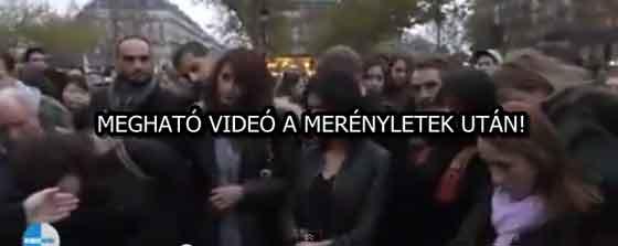 MEGHATÓ VIDEÓ A MERÉNYLETEK UTÁN!