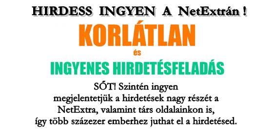 NetExtra - apróhirdetések.