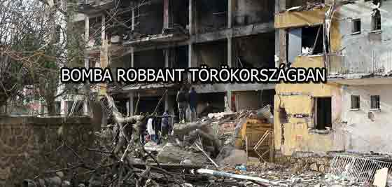 BOMBA ROBBANT TÖRÖKORSZÁGBAN