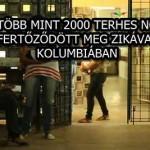 TÖBB MINT 2000 TERHES NŐ FERTŐZŐDÖTT MEG ZIKÁVAL KOLUMBIÁBAN