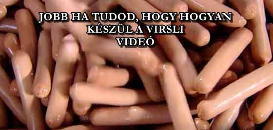 JOBB HA TUDOD, HOGY HOGYAN KÉSZÜL A VIRSLI - VIDEÓ