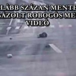 LEGALÁBB SZÁZAN MENTEK EL AZ ELGÁZOLT ROBOGÓS MELLETT – VIDEÓ