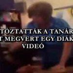 LETARTÓZTATTÁK A TANÁRNŐT, MERT MEGVERT EGY DIÁKOT – VIDEÓ
