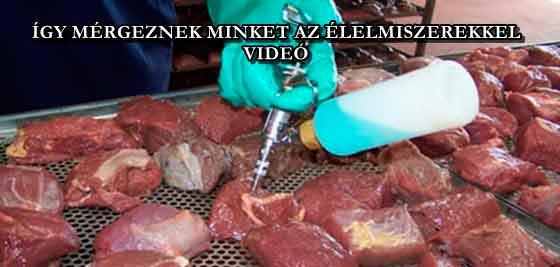 ÍGY MÉRGEZNEK MINKET AZ ÉLELMISZEREKKEL - VIDEÓ