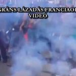 ÚJABB MIGRÁNS LÁZADÁS FRANCIAORSZÁGBAN – VIDEÓ