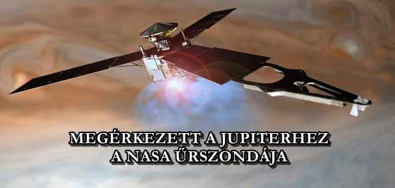 MEGERKEZETT-A-JUPITERHEZ-A-NASA-URSZONDAJA