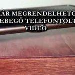 MÁR MEGRENDELHETŐ A LEBEGŐ TELEFONTÖLTŐ – VIDEÓ