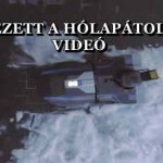 MEGÉRKEZETT A HÓLAPÁTOLÓ ROBOT - VIDEÓ