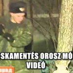 MACSKAMENTÉS OROSZ MÓDRA - VIDEÓ