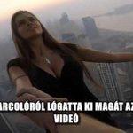 DUBAJI FELHŐKARCOLÓRÓL LÓGATTA KI MAGÁT AZ OROSZ MODELL - VIDEÓ