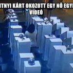 54 MILLIÓ FORINTNYI KÁRT OKOZOTT EGY NŐ EGYETLEN SZELFIVEL – VIDEÓ