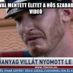 MŰANYAG VILLÁVAL MENTETT ÉLETET A HŐS SZABADNAPOS RENDŐR – VIDEÓ