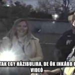 RENDŐRÖKET HÍVTAK EGY HÁZIBULIRA, DE ŐK INKÁBB BEÁLLTAK ZENÉLNI - VIDEÓ